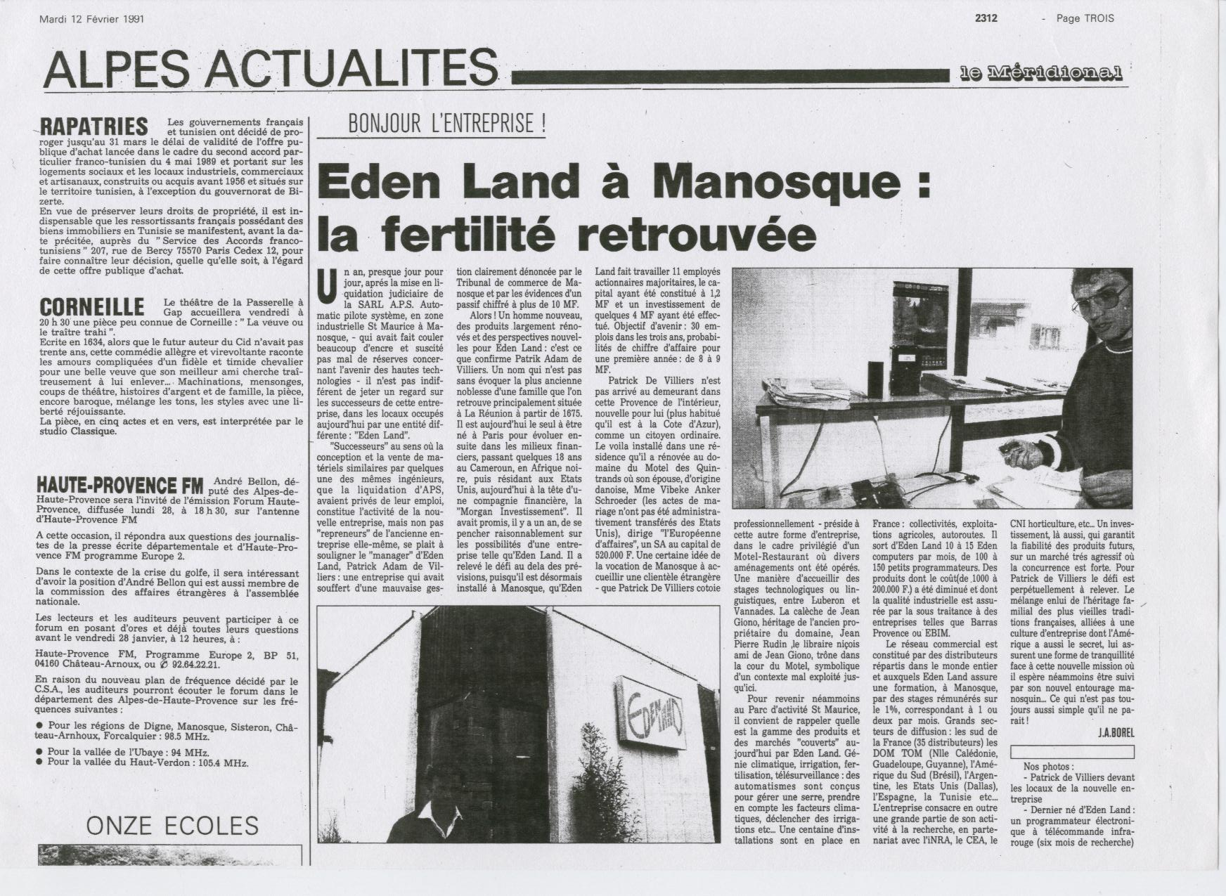 1991 12 Février  Eden Land Manosque France 001.jpg